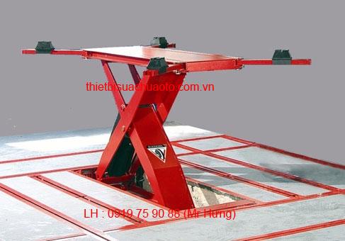 Cầu nâng dùng cho bộ kéo nắn chìm