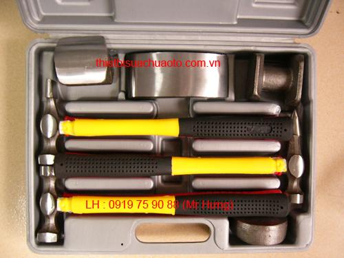 Bộ búa và đe tay sửa vỏ xe (thép đúc)