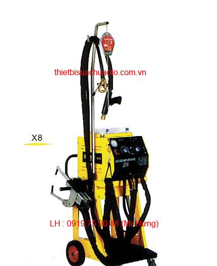 Máy hàn rút tôn và hàng bấm kết hợp TP SW6.0K