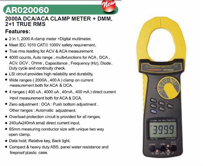 đồng hồ kiểm tra điện tổng hợp